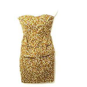 J Crew strapless Dress Size-6
